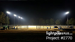 Light Pole Project: #2770 - Dry Creek Equestrian Arena