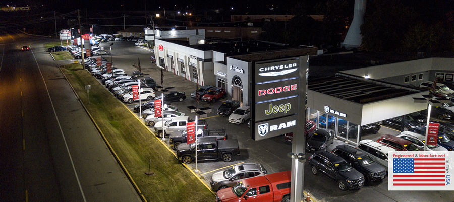 Premier Auto Dealership Lighting Solutions