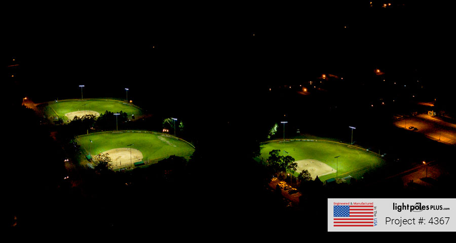 Recreational Baseball Field Lighting Solutions
