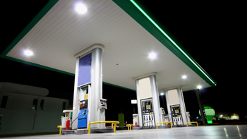 Gas Station Lighting Applications