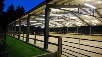Equestrian Lighting Applications