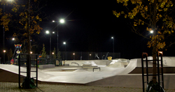 Skate Park Lighting Applications