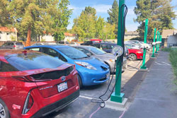 Electric Vehicle Charging Station Applications