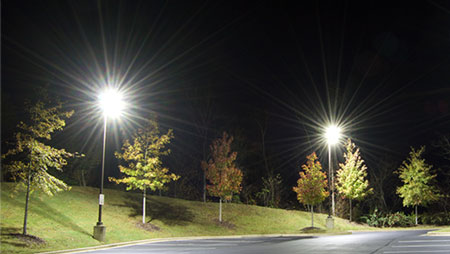 Gas Station Lighting Application - Parking Lot