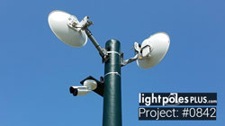 Project #0842: Site Security Application - Custom Fiberglass Light Poles