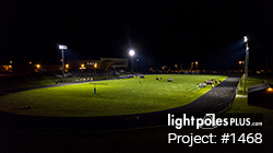 LED Fixture Project: #1468 - Football Field Sports Lighting