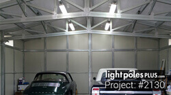 Light Pole-Fixture Project: #2130 - Barn / Shop Garage