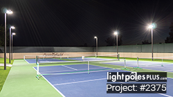 #2375: Tennis, Pickle-Ball, and Horseshoe LED Lighting Package