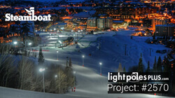 Light Pole Project: #2570 - Steamboat Springs Ski Resort