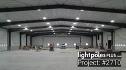 LED Fixture Project: #2710 - 20,000 sq ft Shop High Bay Install