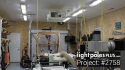 LED Fixture Project: #2758 - LED Wood Shop Lighting