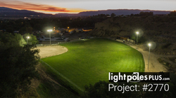 LED Fixture Project: #2770 - Baseball Diamond Sports Lighting