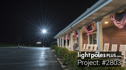 LED Fixture Project: #2803 - Kelley Country Creamery Parking Lot