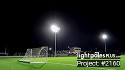 LED Fixture Project: #2910 - Soccer Field LED Lighting Project