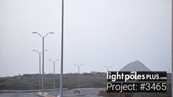 Light Pole Project: #3465 - Fiberglass Roadway Light Poles