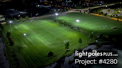 N.E.W. United Soccer Club | Complete Sports LED Lighting Package