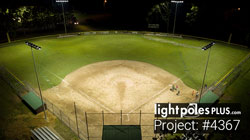 LED Fixture Project: #4367 - Baseball Diamond Sports Lighting