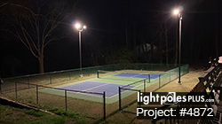 Backyard Lighting Project: #5886 - DIY Pickleball Court