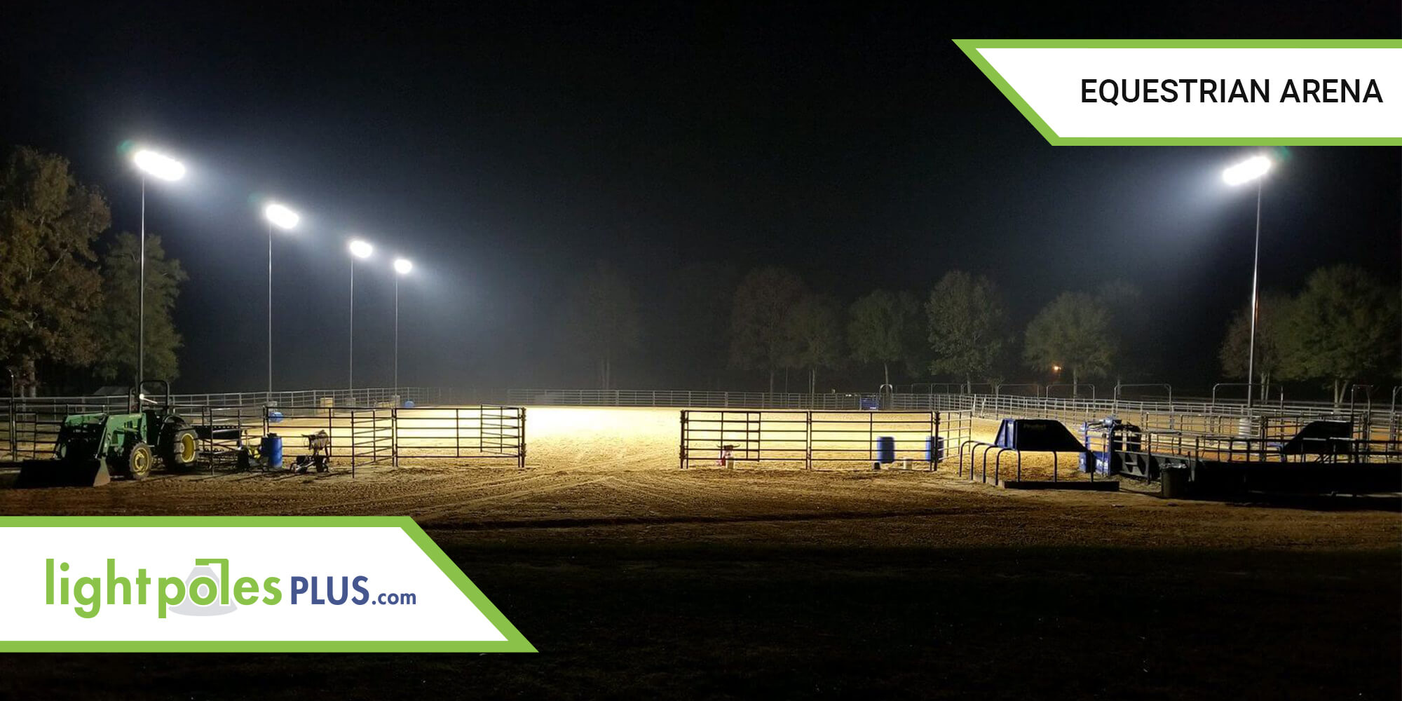 Horse Riding Arena Lighting Project