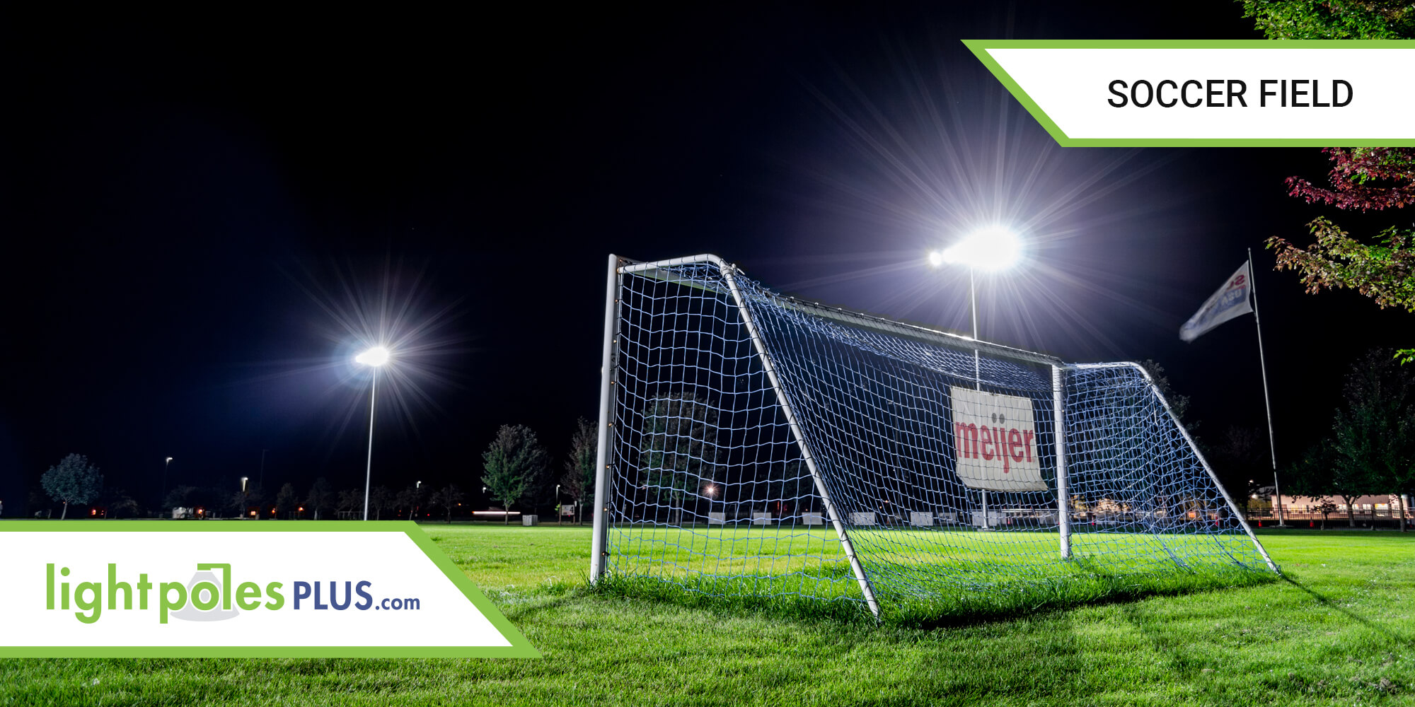 Soccer Field LED Lighting and Light Pole Project