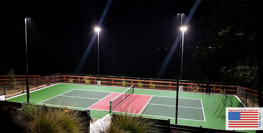Pickleball Court LED Lighting