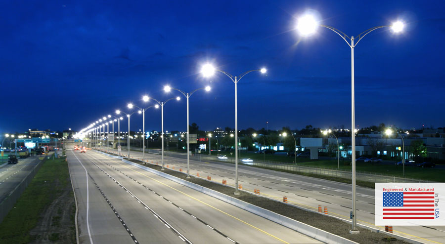 Street Amp Roadway Lighting Pole Fixture Packages