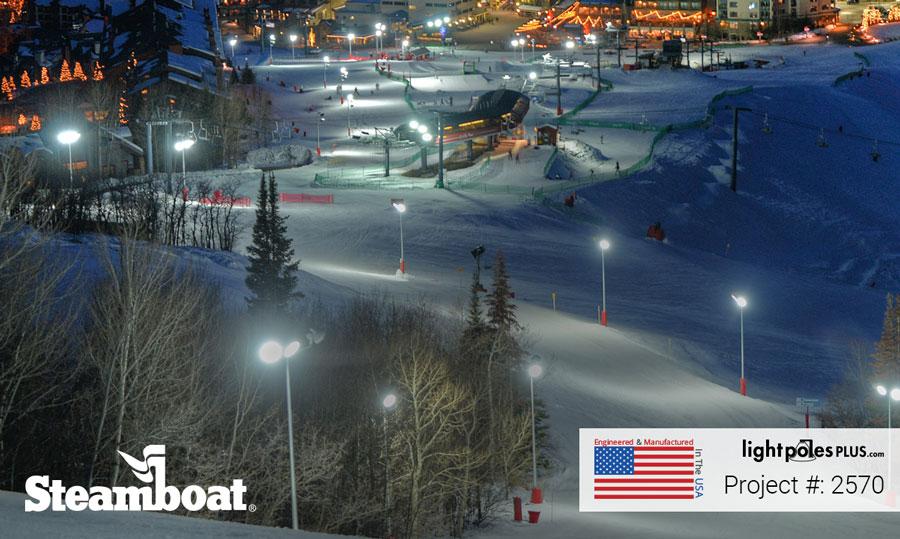 Ski Hill Resort Lighting Packages Professional Grade