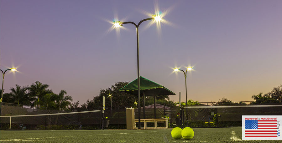 Indoor and Outdoor Tennis Court Lighting