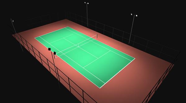 Indoor Amp Outdoor Tennis Court Lighting Commercial Grade